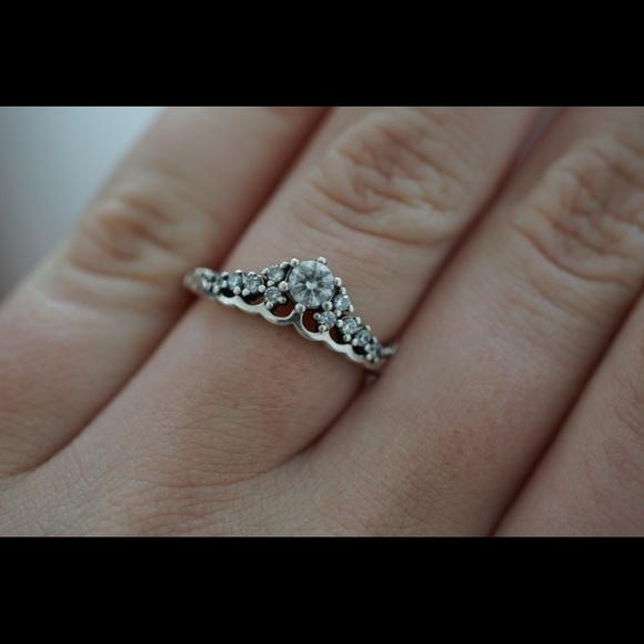 "5e9c2acbc Pandora ""fairytale tiara ring"". M_5ac2b37446aa7c99177b59c1"